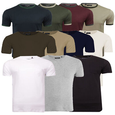 7c8c8bb8e3a MENS CASUAL TOP By Brave Soul T-Shirts Soft Cotton Rich Summer Tee ...