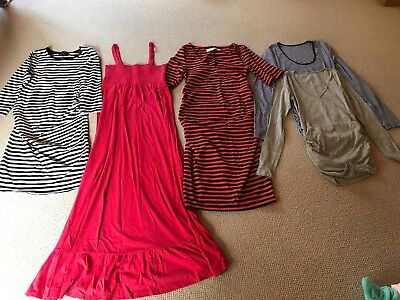 LOT (5) Summer Maternity XS tops, dresses Old Navy