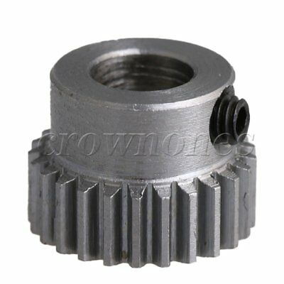 13.5x10mm 0.5 Modulus 25T Motor Pinion Gear 6mm Bore for Small Machinery