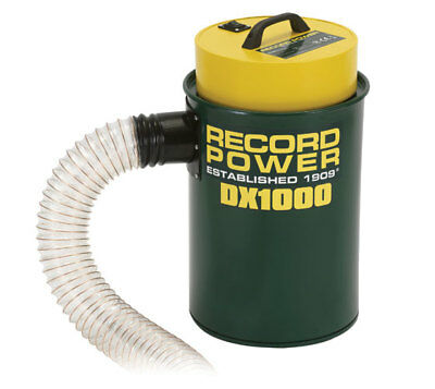 Record Dx1000 Fine Filter 45 Litre Extractor 240volt