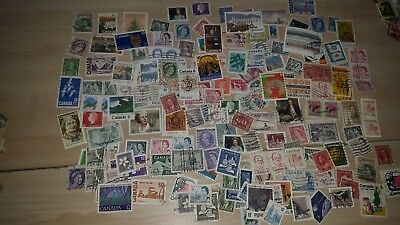 150 fine used Canadian stamps