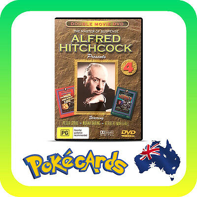Alfred Hitchcock : Man Who Knew Too Much / Murder (DVD) - FREE POSTAGE!