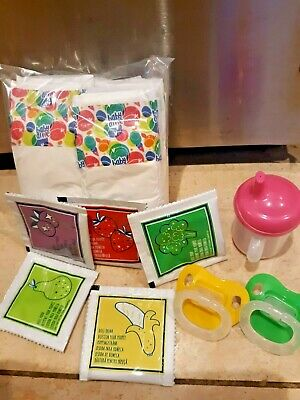 PACI FOOD BOTTLE  NO DOLL INCLUDED BABY ALIVE REFILL PACK SUPPLIES DIAPERS