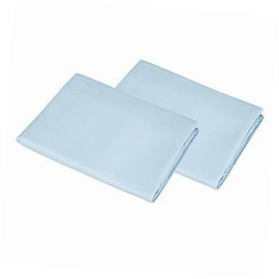 2 pack 100% cotton value jersey knit cradle sheet - blue