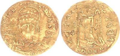 Byzanz Justinus I.Vandals Indian Imitation Gold Tremissis 518-527 SS