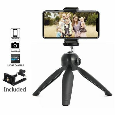 Portable Cellphone Stand Lightweight Travel Photography Flexible Camera Tripod