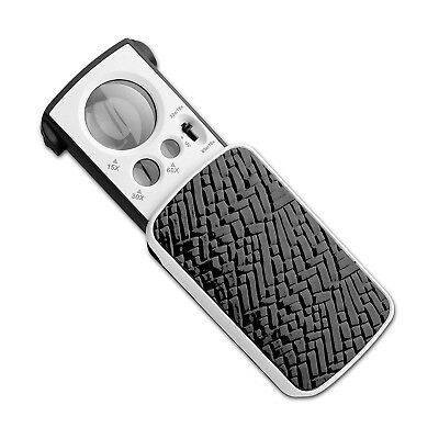 Multi-Power Portable SmallPocket Magnifier Glass Fancii LED Lighted Slide Out