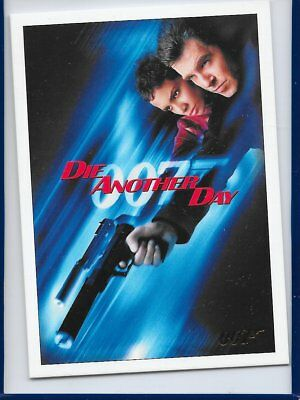 2017 James Bond Archives Final Die Another Day Card 01 Gold Foil Parallel #84