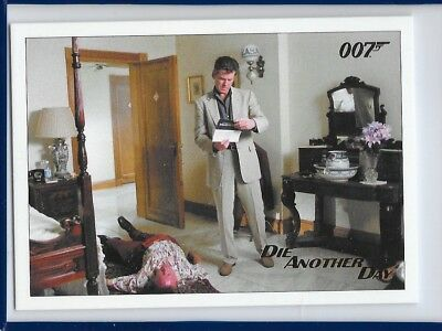 2017 James Bond Archives Final Die Another Day Card 21 Gold Foil Parallel #81