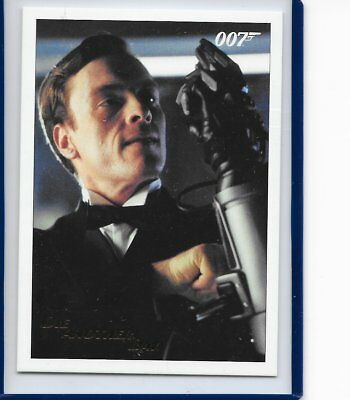 2017 James Bond Archives Final Die Another Day Card 48 Gold Foil Parallel #48