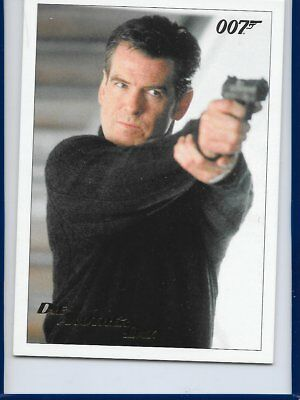 2017 James Bond Archives Final Die Another Day Card 58 Gold Foil Parallel #142