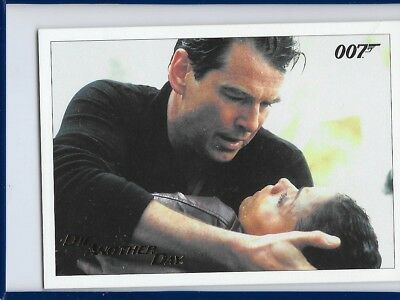 2017 James Bond Archives Final Die Another Day Card 70 Gold Foil Parallel #198