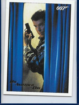2017 James Bond Archives Final Die Another Day Card 76 Gold Foil Parallel #019