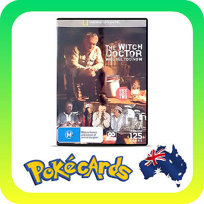 The Witch Doctor Will See You Now - NEW & SEALED DVD- R4 - FREE POSTAGE!