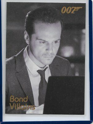 2017 James Bond Archives Final Edition Spectre / Skyfall Expansion Card #F86