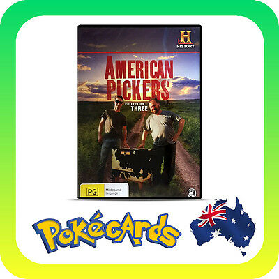 American Pickers - Collection 4 - Brand New Pal R4 Dvd - Free Post