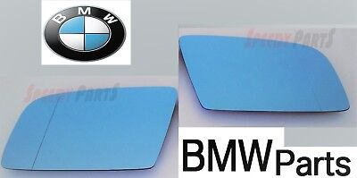 BMW 6-series E63 2003-2010 LEFT+RIGHT Heated Door Mirrors Glass /& Backing Plate
