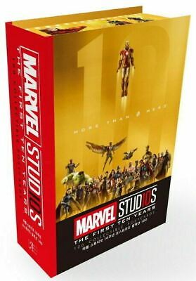 Marvel Studios MCU The First 10th Year Anniversary Collectible Postcards Endgame
