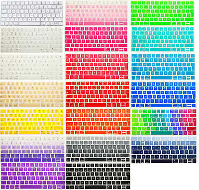 EUVersion Skin Cover for Apple NEW Magic Keyboard 2 Wireless Bluetooth-MLA22LL/A