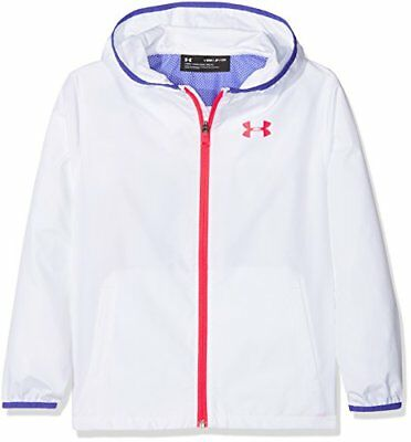 Under Armour, Sack Pack Full Zip Jacket, Giacca, Bambina, Bianco (G4A)