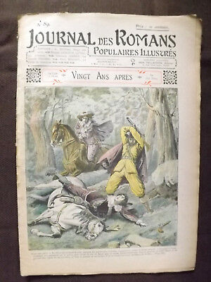JOURNAL DES ROMANS POPULAIRES ILLUSTRES.  n°89 - Sans date.