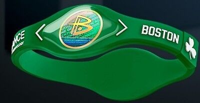 Braccialetto Power Balance-Basket Nba-Boston Celtics-Irving-Hayward-Horford
