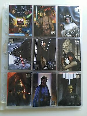 Star Wars Topps Galaxy series 4 set and promo cards 2009 EX/NM