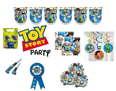 Disney Toy Story Birthday Party Supplies Tableware Decorations Buzz