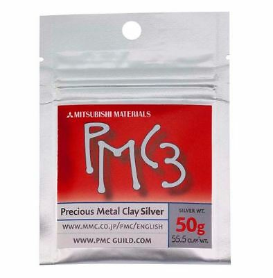 PMC3 Silver Precious Metal Clay for making jewellery, beads or small sculptures