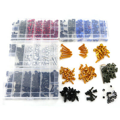 Complete Fairing Bolt Kit Screw Nuts For Triumph Sprint 900 Street Triple R Red
