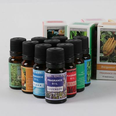 10ml New 100% Pure Aromatherapy Air Purified Water Soluble Essential Oil