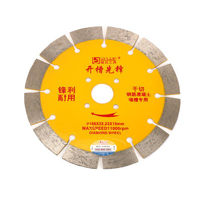 156mm Diamond Circular Saw Blade Cutting Disc For Concrete Masonry Cutter Tool