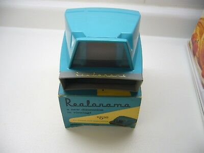 Realist Realonama 35mm & Superslides Viewer with Box