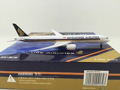 Singqapore Airlines B787-10 9V-SCB (Phoenix 1:400)