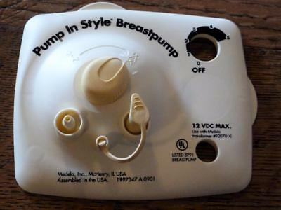 Medela Pump in Style Breast Pump Faceplate Diaphragm 12 VDC MAX Free Shipping!!