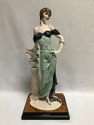 Giuseppe Armani Lady Morning Rose Figurine 193C w/ Box