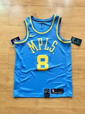 Kobe Bryant MPLS Lakers Nike Jersey Size 44 Medium 100% Authentic SOLD OUT d6ab54e55