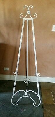 Wedding easel white picture stand photo stand freestanding 157 cm new