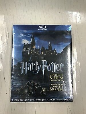 Harry Potter Complete 8 Film Collection Blu Ray Brand New