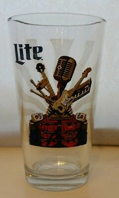 Miller Lite Beer Glass- Eaux Claires Music Festival 2016 -  Awesome Design