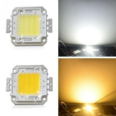 100W Cool / Warm White High Power LED Panel Chip 9000LM 100 Watt Lamp Light