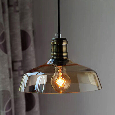 Rustic Modern Gl Shade Pendant Light Ceiling Lamp Kitchen