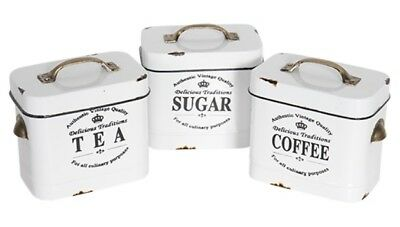 Tea, Sugar, Coffee Canister - preorder