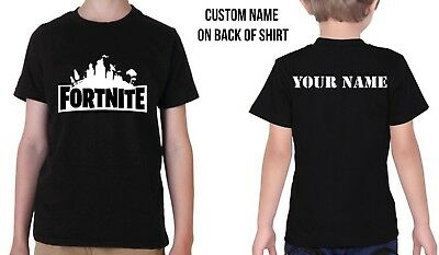 Kids custom Fortnite shirt