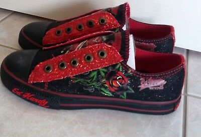 Ed Hardy Tattoo Ink girls shoes, brand new, sizes 1 to 4