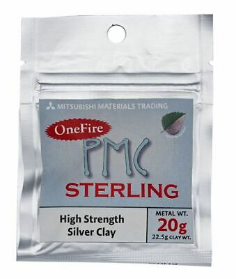 PMC OneFire Sterling Silver for making Jewellery, Beads and Small Sculptures