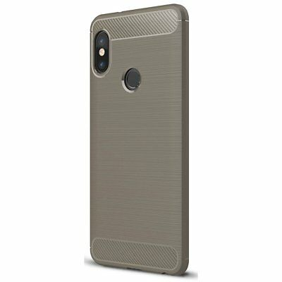 Huawei Honor 6x Étui Tpu Fibre De Carbone Optique Brushed Motif Etui Coque Noir Cases, Covers & Skins