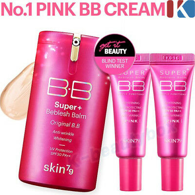 SKIN79 Super Plus Beblesh Balm Perfect Cover BB Cream 45g * PINK / Foundation