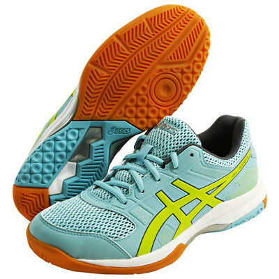 ASICS Gel-Rocket 8 Unisex Badminton Shoes Indoor Shoe Sky Blue NWT B756Y-1489