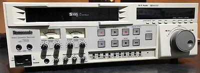 Panasonic AG 7350 HiFi VHS/SVHS Video recorder VCR - 240 Volt ✅FREE DELIVERY*🚚